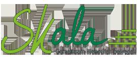 """Dies ist das Logo der SKala Initiative. Sein Untertitel lautet """"Gemeinsam Menschen bewegen"""""""